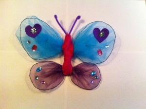 voorbeeld vlinder